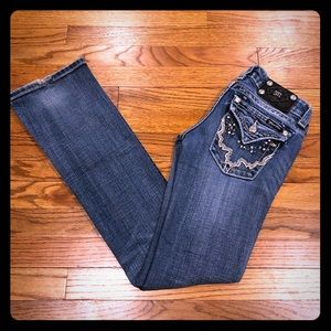 Miss Me Bootcut Jeans JW4292B8 size 25